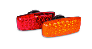 "24 LED Portable Safety Light 7"" x 3"" Battery Operated"