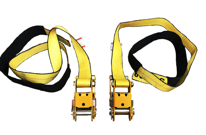 "2"" Under Reach Tie Down Straps - Sold in Set"