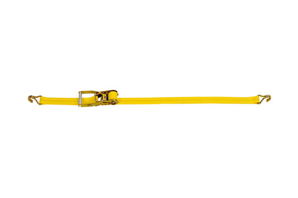 "2"" x 27' Ratchet Strap with Wire Hook Tie Down"