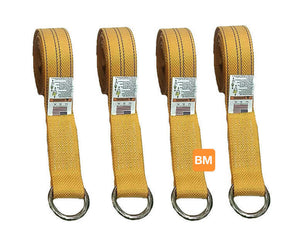 YELLOW Lasso Straps Diamond Weave Webbing available at Baremotion