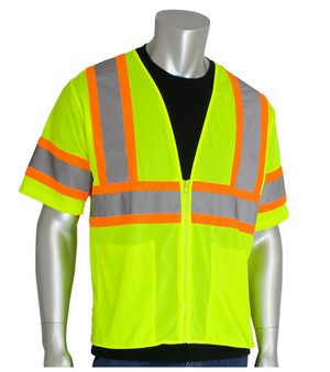 These ANSI Class 3 vests are Hi-Viz and ideal for construction, towing, municipalities, shipyards, and anywhere hi-visibility apparel is needed.