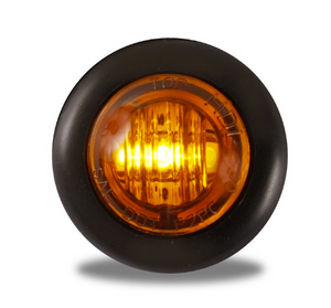 "Amber 3/4"" LED Marker Light"