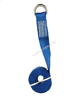 Lasso strap made with Diamond Weave webbing.  Blue Color.