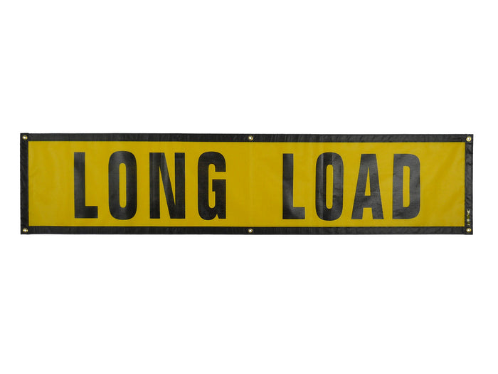 "18"" x 84″ Long Load Sign - Grommet"