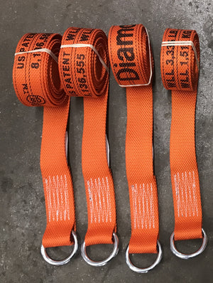 ORANGE Lasso Straps available at Baremotion