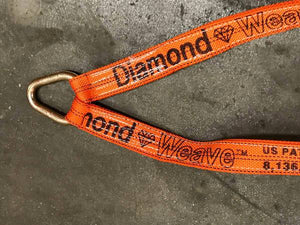 Orange axle v-bridle tow truck strap is great for towing high end vehicles such as Teslas!