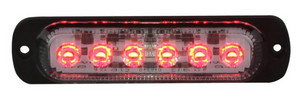 Red LED Ultra Thin Low Profile Strobes with 19 Flash Patterns