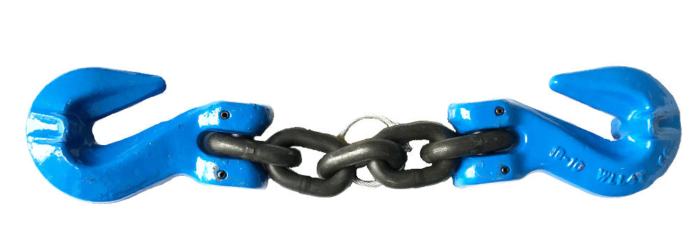 "5/16"" Grade 100 Shortening Chain with Cradle Grab Hook"