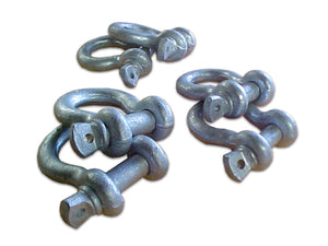 This Screw Pin Anchor Shackle Kit comes with 6 Drop Forged Shackles.
