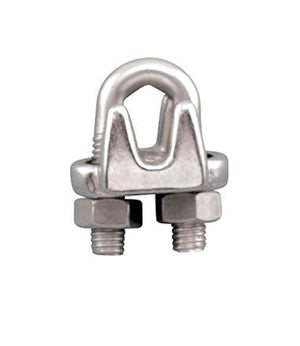 Stainless Steel wire rope clips made with high quality Type 304 stainless steel