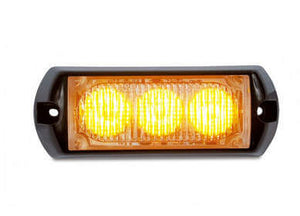 Amber Rectangular LED High Power Strobe Lights