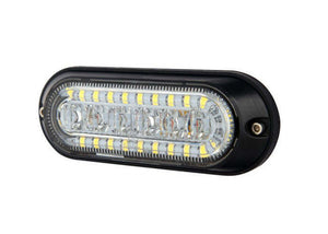 18-Watt LED Strobe with Built-In Flood Work Light
