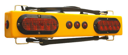 "TM25 TOWMATE 25"" Wireless Truck Light - Three DOT markers, Sidemarker Lights"