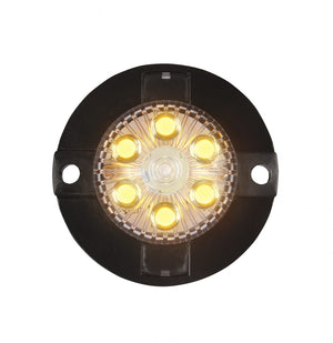 AMBER LED Mini-X Extreme Strobe Lights with 17 Flash Patterns.  Available at Baremotion.com