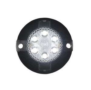 CLEAR LED Mini-X Extreme Strobe Lights with 17 Flash Patterns.  Available at Baremotion.com