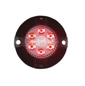 RED LED Mini-X Extreme Strobe Lights with 17 Flash Patterns.  Available at Baremotion.com