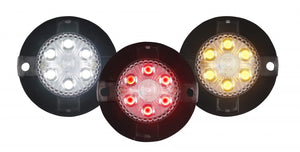 LED Mini-X Extreme Strobe Lights with 17 Flash Patterns.  Available at Baremotion.com