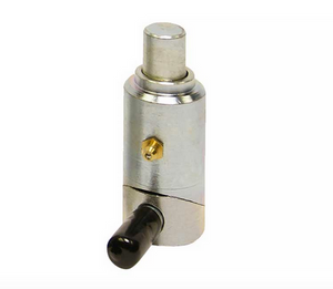 Spring Loaded Cam Lock Plunger Pins.  Zinc Plated with Grease fitting.