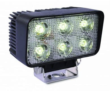 18-Watt LED Rectangular Flood Work Light