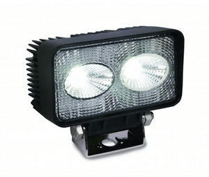 20-Watt LED Flood Work Light.  Rectangular, wide 90 degree