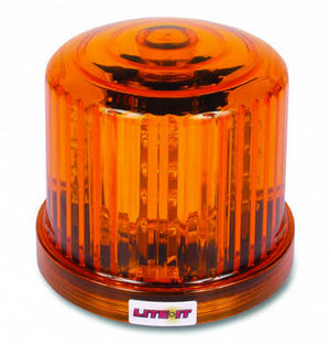 LED Battery Operated Rotating Magnetic Beacon - AMBER