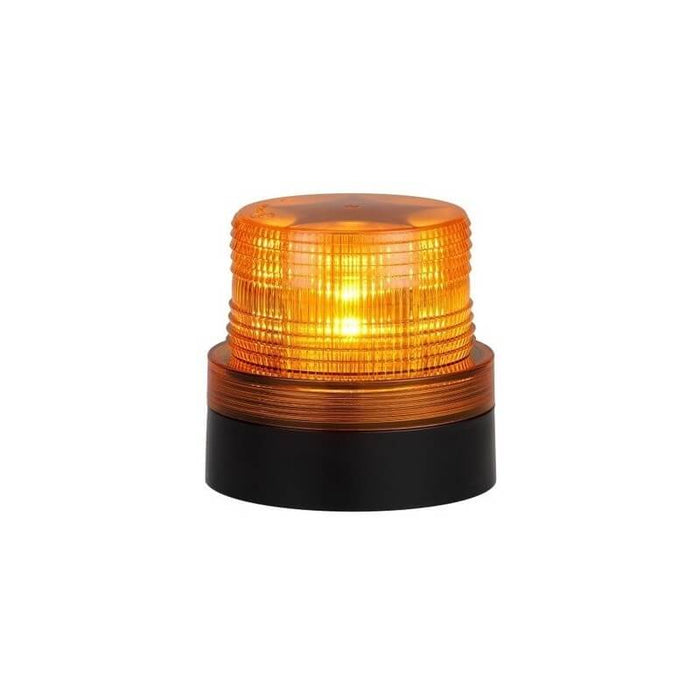 LED Magnetic Battery Operated Flashing Rotating Beacon