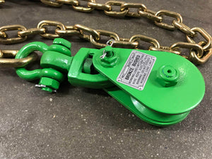 2 Ton Snatch Block with Chain Anchor