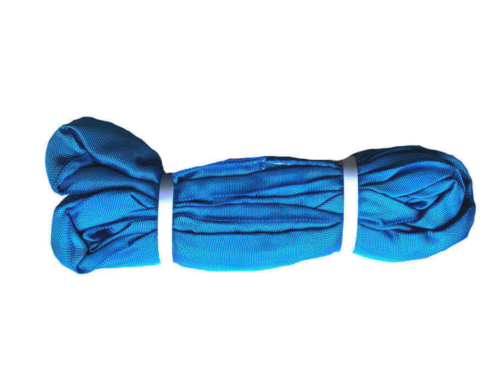 Blue Round Slings Polyester - 21,200 LBS WLL (Import)