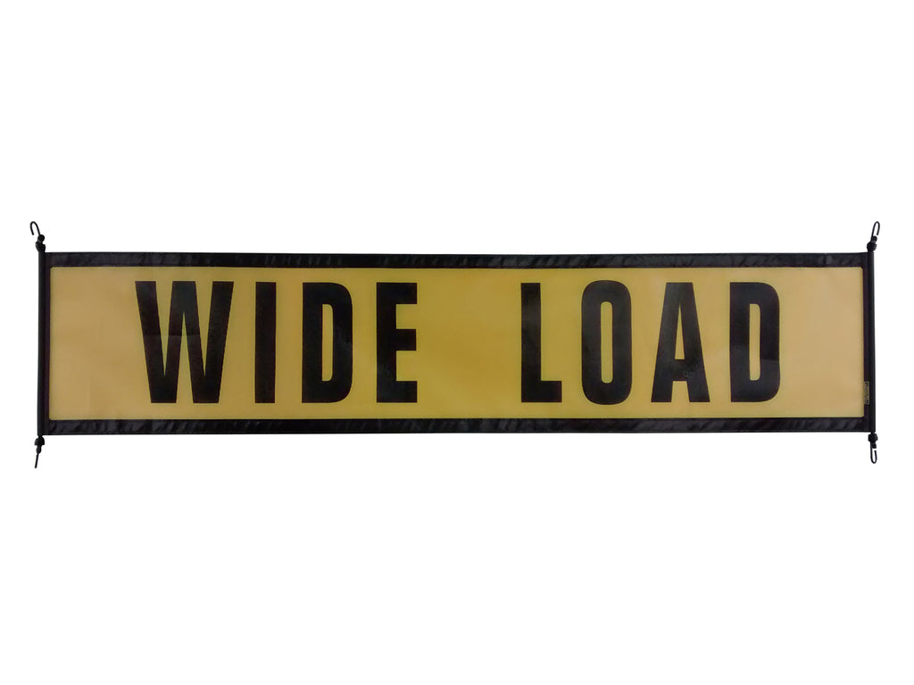 18″ X 84″ Ez Hook Mesh Wide Load Sign
