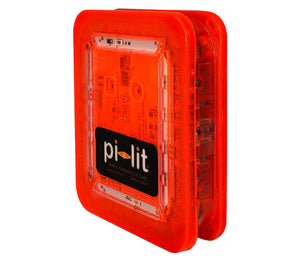 Orange color lights - Pi-Lit® Sequential LED Rechargeable Flare. Sequential safety warning lights