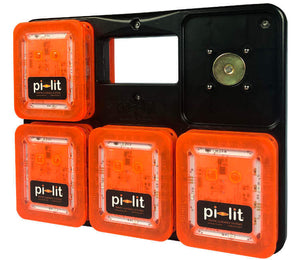 Pi-Lit Carrying Case 10-Pack Case for Smart Flares