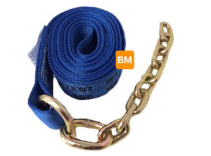 8-Point Tie Down Kit Diamond Weave BLUE