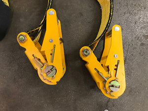 "2"" Under Reach (underlift) Tie Down Straps - Sold in Set (4,000 LBS)"