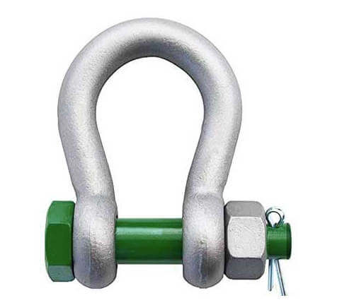 Van Beest G-4163 Bolt Type Anchor Shackle Green Pin
