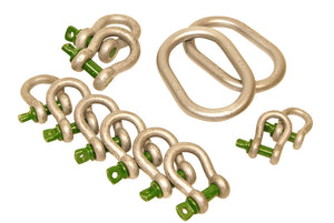 Van Beest Green Pin Shackle Kit 12 Pieces