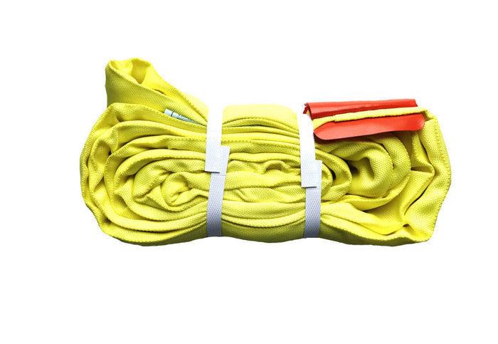 Yellow Round Slings Polyester - 8,400 LBS WLL (Import)