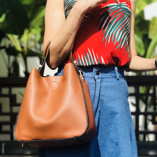 BRINLEY Hobo Shoulder Bag