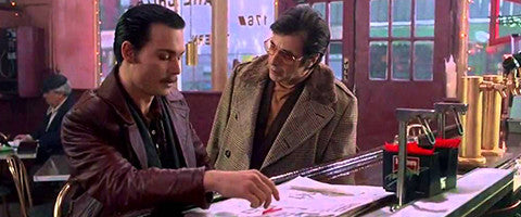 Donnie brasco he grabbed my cock