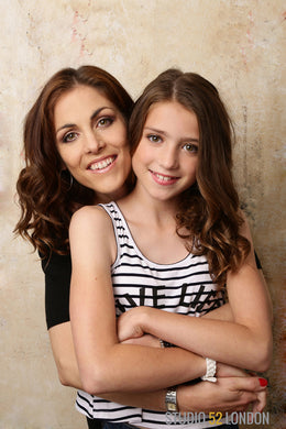 Mother and Daughter Makeover Portrait Session