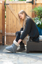 Flaunt Boots warm cover for medical boots or aircasts. The Snygg is soft and warm
