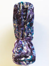 Microfiber Abstract in Purple