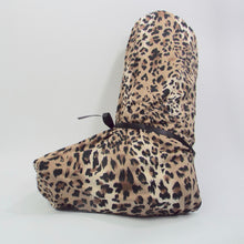 Fun pajama cover for bedtime to cover your air cast or medical boot. Keep a clean bed at night with a nighttime cover