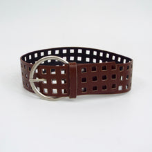 "Brown 3"" Die Cut Belt"