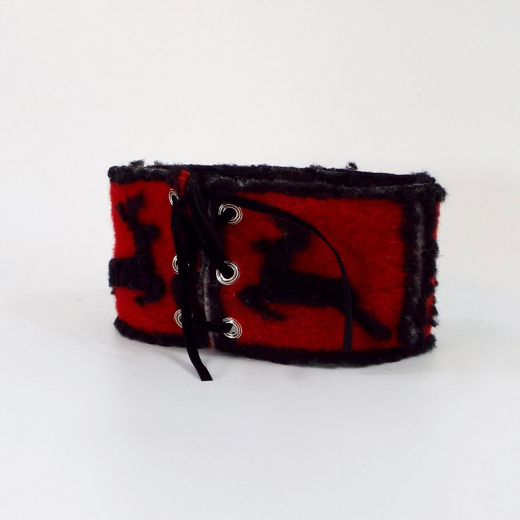 Wool Holiday Cuff