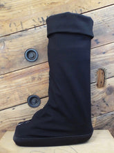 Pull on cover for medical boot; aircast, walking cast; heal beautifully after an ankle injury