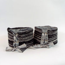 Tie on decorative cuffs for boots, medical boots, aircasts