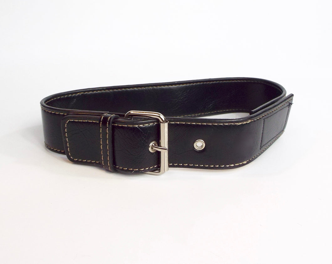 Black Band w/Silver Side Buckle
