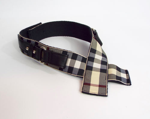 Burberry Style Cross Band