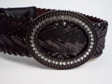 Metallic Plum Sparkling Belt