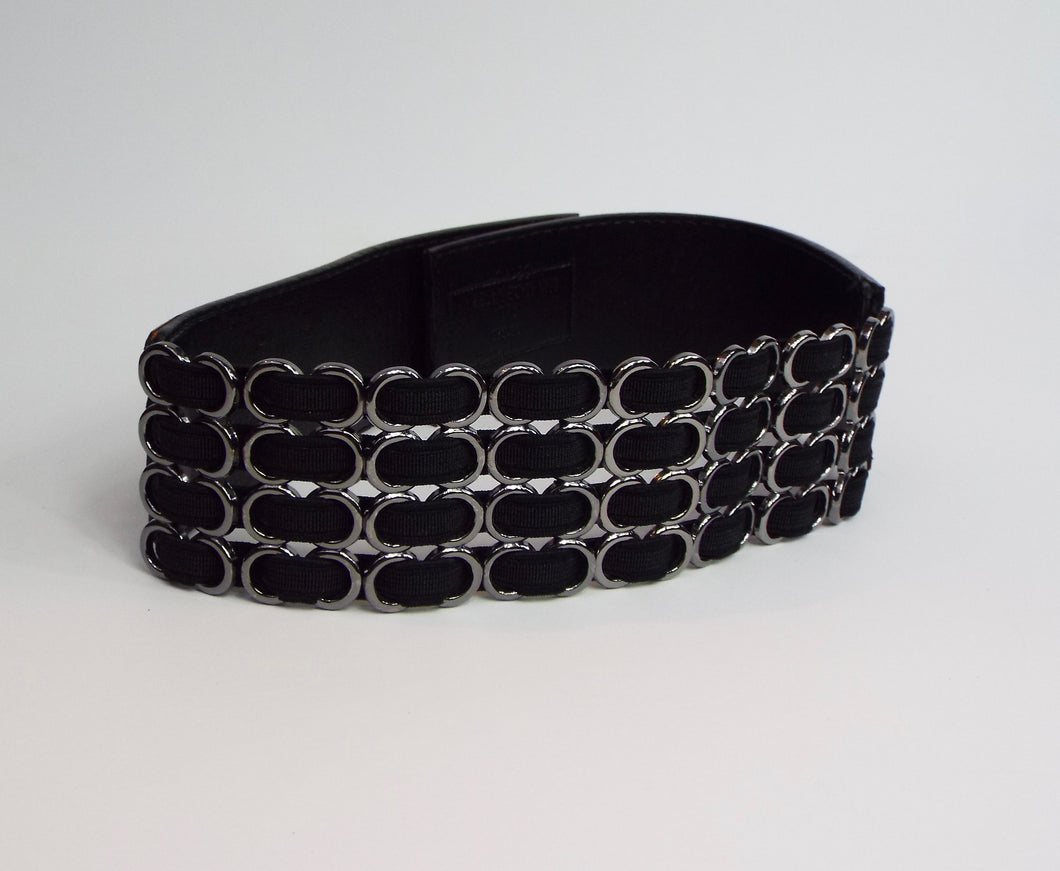 Black and silver 4-up Band